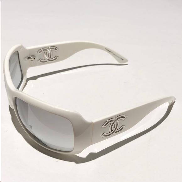 4f456ddf26d2 CHANEL Accessories - CHANEL Women s sunglasses white 6018 C.716 11